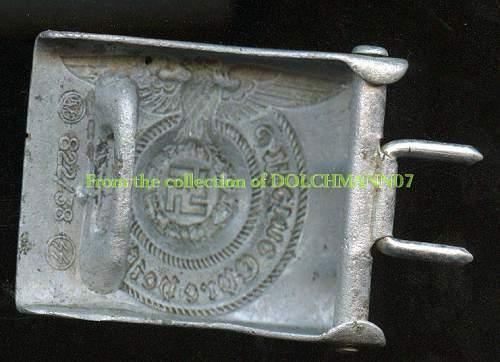 SS alluminium buckle