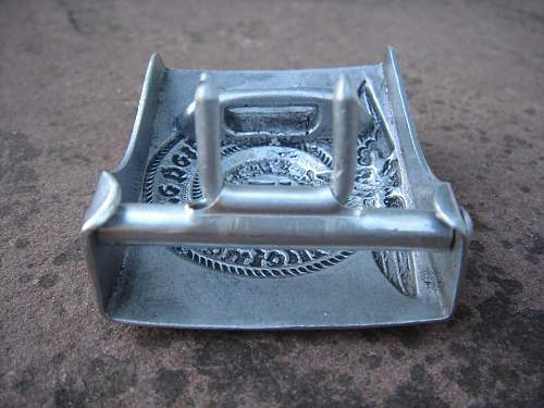 SS buckle RZM 36/39