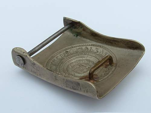 Unmarked Nickel SS Buckle