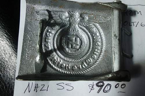 2 SS and one Luft buckle for evaluation