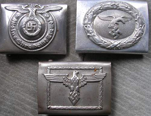 luft and ss buckle??