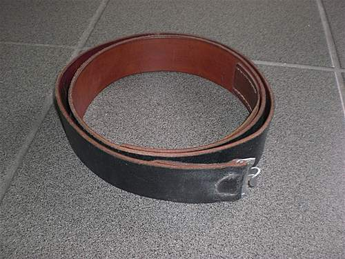 4SS PAN DIV VI 1944 belt