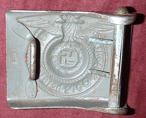 SS RODO belt buckle real or fake