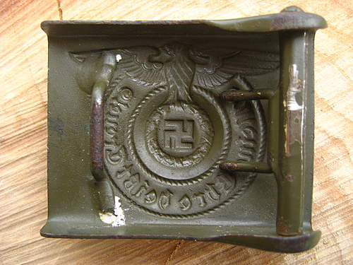 SS Buckle from Sandy Ground