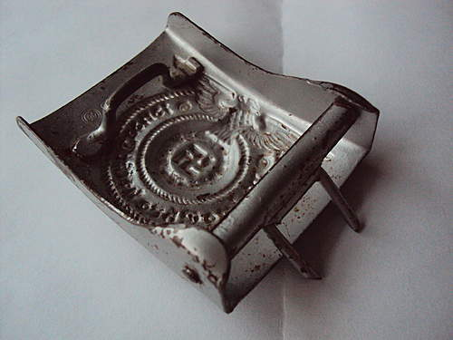 SS buckle for review