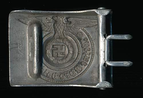 SS belt & buckle 822/38 RS&S