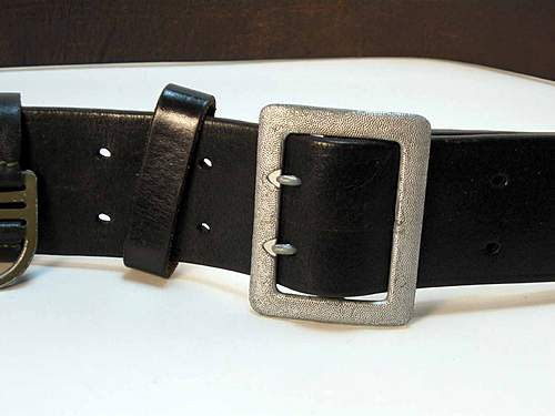 SS Claw Buckle and Belt Need Opinions Please