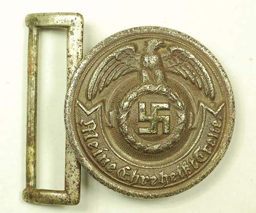 SS officer buckle - early Overhoff