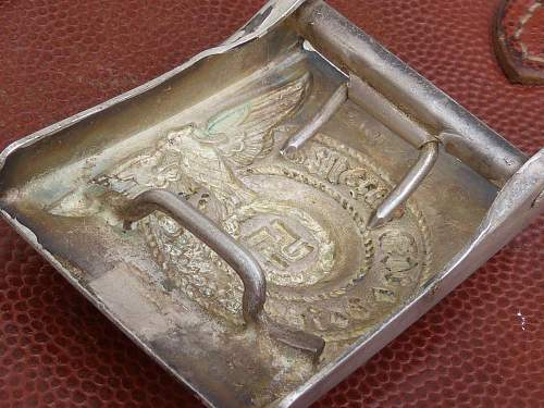 Waffen SS Buckle  155/40 real???