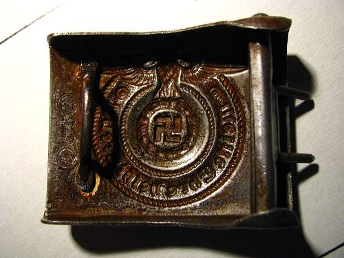 SS buckle, please confirm