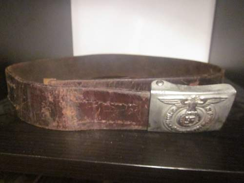 Thoughts of SS belt