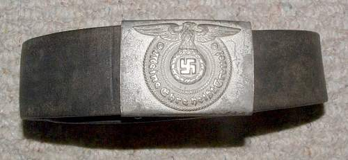 ss belt buckle and belt opinions?