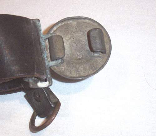 SS officers buckle