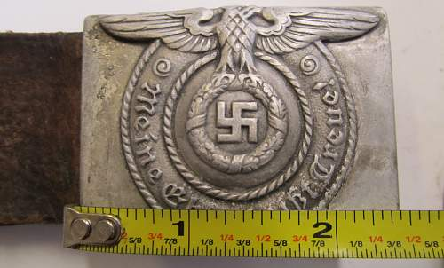 "Enlisted Belt & Buckle--need id info for ""BERLIN 6"""