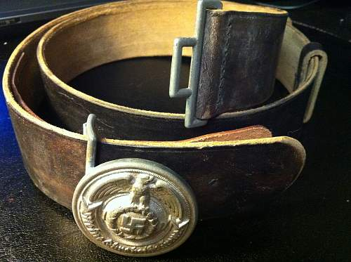My SS buckles (ForAndreas)