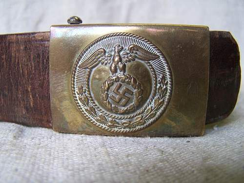 2x SS Buckles & Belts Offered