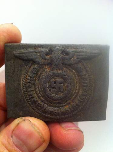 Real or fake RZM 36/42 SS belt buckle...