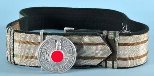 Allgemeine & Waffen - SS Koppelschloss with Feldbinde