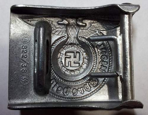 Ss buckle 822/38...mold fake???