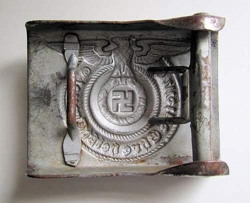 SS belt buckle maker ID please?