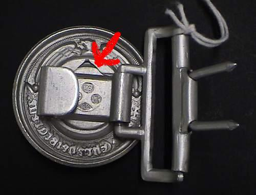SS Officers belt buckle. Fake or not fake.