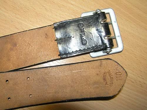 Officer belt SS RZM 287/44 genuine?