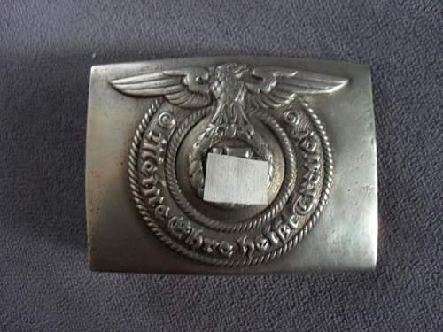 SS O&C belt buckle genuine?