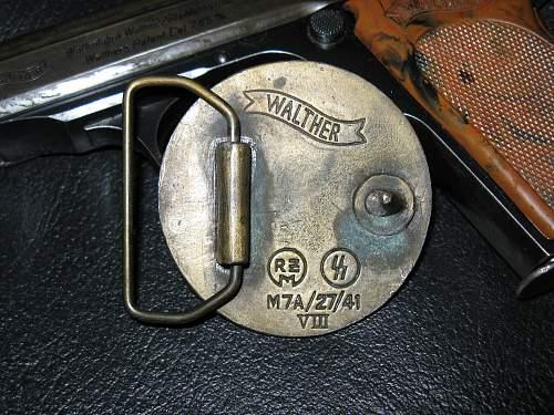 real or fake prototype belt buckle?