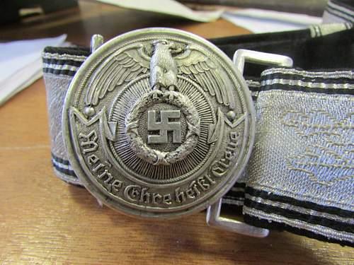 ss oficer belt