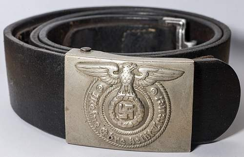 Thoughts on this SS RZM 57 buckle and belt?