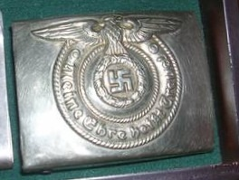 SS Enlisted Man's buckle..O&C ges. gessch.