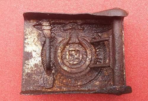 original SS belt buckle?