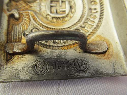 SS Buckle - Genuine or Fake, please advice.