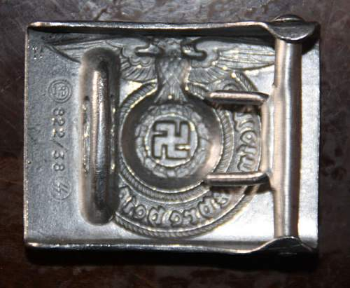 SS RZM 822/38 SS genuine ?