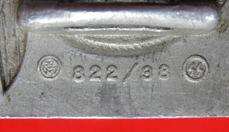 SS Buckle 822/38