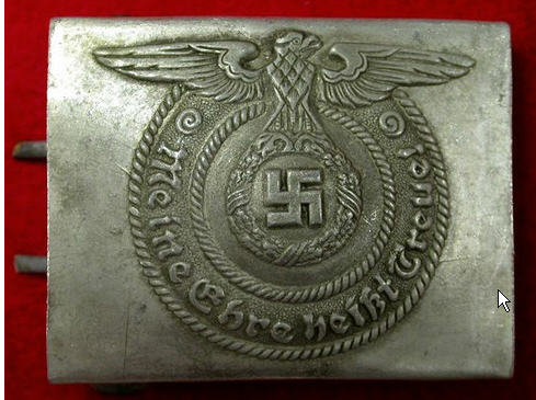 Need help--ss enlisted belt buckle