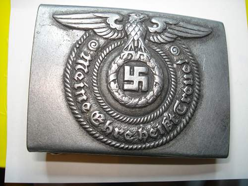 SS beltbuckle 36/40 for review