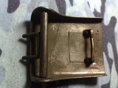 2 -SS beltbuckle