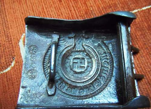 SS buckle 36/42 for review