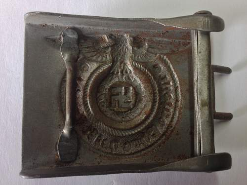 Is it real?  SS buckle