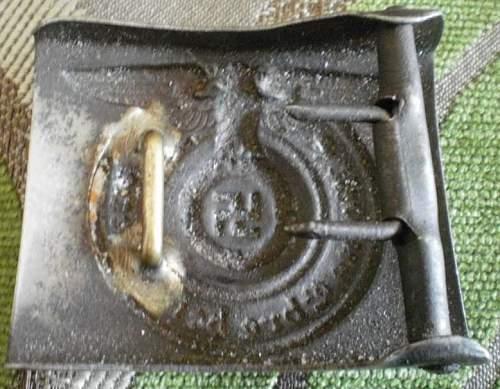 Waffen SS Belt Buckle to ID