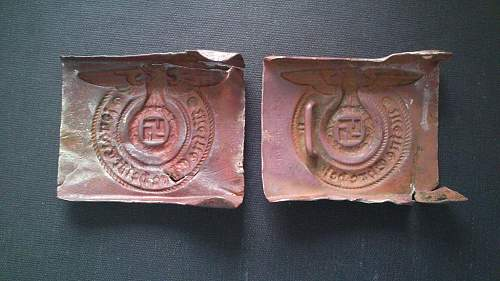Another two buckles.. The same marker, but different wings?