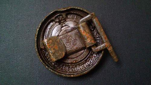 SS officer buckle 36/42