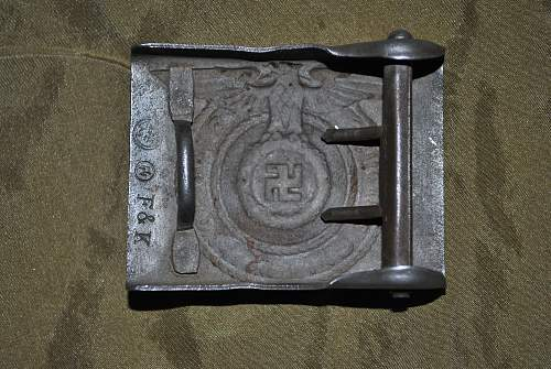 SS buckle find at yard sale
