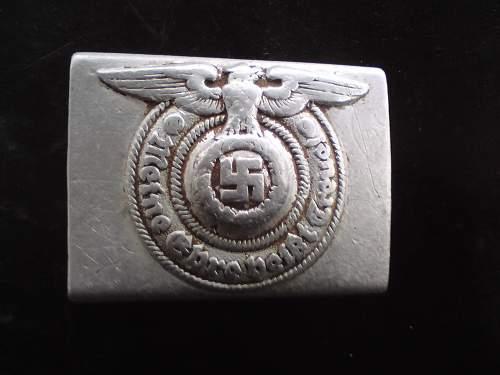 SS Belt Buckle 822/37