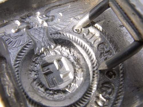SS buckle, could it possibly be real?