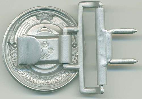 Officer SS buckles