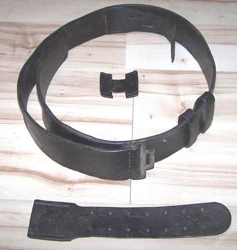 SS officer belt?