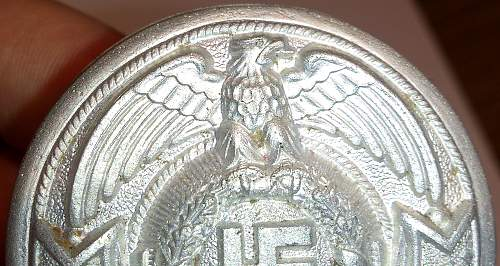 NEW (Fake) RARE SS officer buckle to hit market