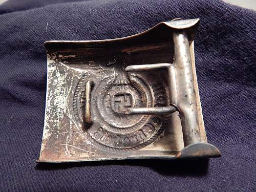 New SS buckle